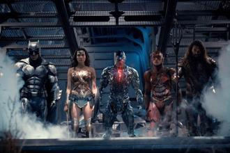 A still from 'Justice League'.