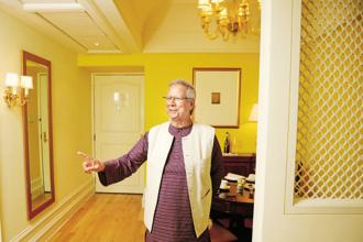 Grameen Bank founder Muhammad Yunus. Photo: Abhijit Bhatlekar/Mint