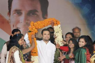 Congress has cleared the decks for the elevation of vice-president Rahul Gandhi to the top party post. File photo: PTI