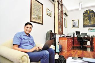 Chief economic adviser Arvind Subramanian says GST rates converge into three slabs and land is brought under the purview of the goods and services tax. Photo: Priyanka Parashar/Mint