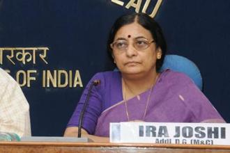 Ira Joshi is currently serving as the director general of Press Information Bureau (PIB) in Delhi.