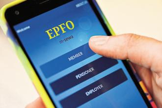 All the EPFO services have been moved to the Umang app. Most EPF-related mobile apps around these days are unauthorised.  Photo: Priyanka Parashar/Mint