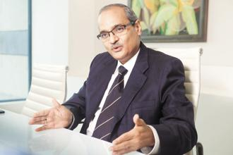Seshagiri Rao, joint managing director and group CFO, JSW Steel. Photo: Abhijit Bhatlekar/Mint