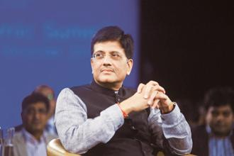 Railway minister Piyush Goyal says Indian Railways will switch to electric trains in the next five years and the diesel locomotives will be used as back-up. Photo: Ramesh Pathania/Mint