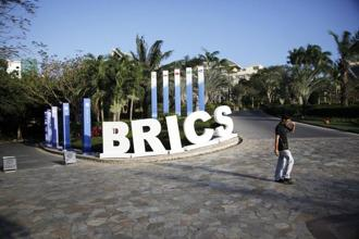 The Brics New Development Bank was set up after leaders of the grouping agreed on its establishment during its sixth summit in Fortaleza, Brazil, in 2014. Photo: Bloomberg