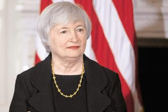 Jenet Yellen served as vice chair of the board of governors from 2010 to 2014 before becoming chair. Photo: Bloomberg
