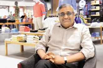 Future Group CEO Kishore Biyani says Google will help to identify locations, while Facebook will help determine customer demographics as well as social engagement. Photo: Hemant Mishra/Mint