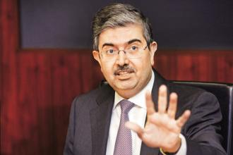 Uday Kotak said Kotak Mahindra Bank is pretty open to acquisitions as long as they make strategic sense, are value accretive and are a good cultural fit. Photo: Abhijit Bhatlekar/Mint