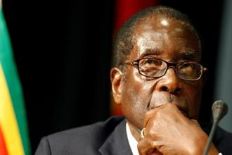 Robert Mugabe resigned as Zimbabwe's president on Tuesday, shortly after parliament began an impeachment process to end his nearly four decades of rule. Photo: Reuters
