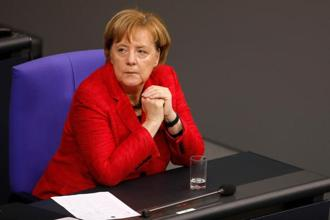 For both the SPD and Angela Merkel's Christian Democrat-led bloc, there may be more risk than reward in returning to the polls. Photo: AFP