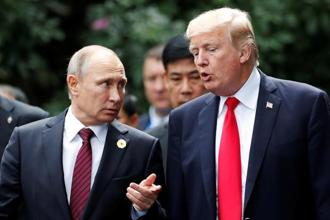 According to the White House, US President Donald Trump and Vladimir Putin also discussed how to implement a lasting peace in Ukraine, and the need to continue international pressure on North Korea to halt its nuclear weapon and missile programs. Photo: Reuters