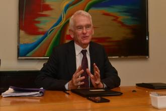 Terry Peigh, managing director of Interpublic Group. Photo: Ramesh Pathania/Mint