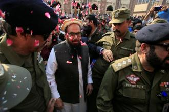 India says LeT chief Hafiz Saeed is the main plotter of the 2008 Mumbai attack in which 166 people were killed between 26-29 November. Photo: Reuters