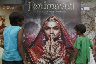 The ban on 'Padmavati' in Gujarat jeopardizes the film's prospects from having a timely and disruption-free release. Photo: AP