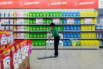 Lotte intends to invest in retail, chemicals, food processing and real estate, as well as develop railway platforms in the country, the person said. Photo: Bloomberg