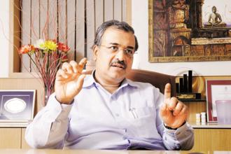 Dilip Shanghvi, chairman and managing director of Sun Pharma. The company reported US sales of $309 million in the September quarter, the lowest in the last 18 quarters. Photo: HT