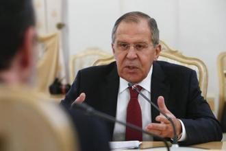 Russia's foreign minister Sergei Lavrov will discuss the North Korea crisis with his Japanese counterpart Taro Kono during his visit to Russia on Friday. Photo: Reuters