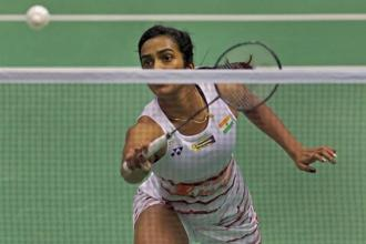 This is Sindhu's second loss in the four finals that she reached this season. Photo: AP