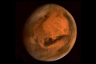 If these lines are dry, 'this suggests that recent Mars has not had considerable volumes of liquid water, the researchers said. Photo: PTI