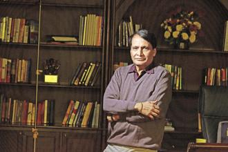 Commerce minister Suresh Prabhu. After India enacted the National Food Security Act, 2013, the demand for public procurement increased significantly. Photo: HT
