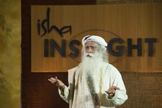 India is in such a stage of economic development where we need solid businesses that last many years and will build teams, possibilities and experiences, says Sadhguru Jaggi Vasudev. Photo: Isha Foundation