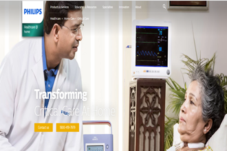 Philips India said ICU@home, the new healthcare at home service will be 30-40% cheaper than at hospitals.