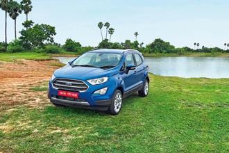 Ford's compact SUV, Ecosport, seems set for a great comeback.