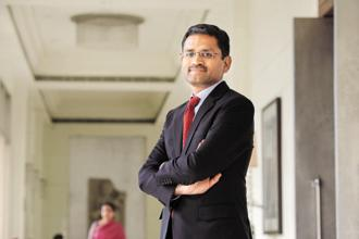 Rajesh Gopinathan had succeeded Natarajan Chandrasekaran as TCS CEO in February. Photo: Hemant Mishra/Mint