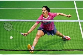 Saina Nehwal has stormed back into the top 10 of women's rankings. Photo: Hindustan Times