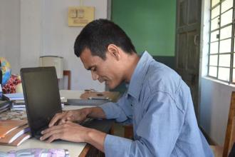 A. Sengjan, a teacher at Montfort Centre for Education, Tura, Meghalaya.