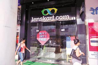 Lenskart plans to have 460 stores selling 400,000 frames every month by March 2018. It currently has about 365 stores. Photo: Pradeep Gaur/Mint
