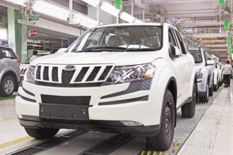 Mahindra's sales of passenger vehicles, including Scorpio, XUV500, Xylo, Bolero and Verito, increased 21% to 16,030 units compared to 13,198 units in the same month last year. Photo: Bloomberg