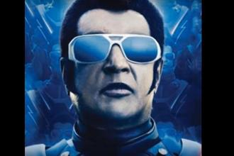 Actor Rajinikanth in a still from Shankar's upcoming science-fiction film '2.0'.
