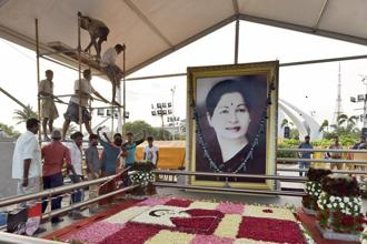 The ruling AIADMK has been marred by internal conflicts since the death of former CM J. Jayalalithaa, leading to political uncertainty in Tamil Nadu. Photo: PTI