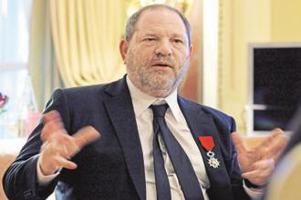 The Harvey Weinstein incident triggered a torrent of complaints against high-profile men in entertainment, media, politics and academia. Photo: AP