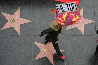 The #MeToo movement was founded by activist Tarana Burke on Twitter a decade ago to raise awareness about sexual violence. Photo: Reuters