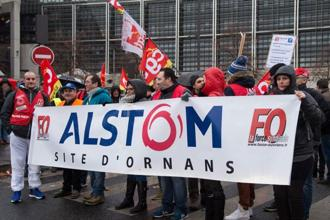 GE's $10 billion deal to buy Alstom SA's assets two years ago has compounded the pain. Photo: AFP