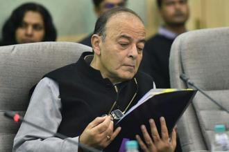 A file photo of finance minister Arun Jaitley. Photo: PTI