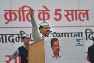 File photo. Delhi chief minister Arvind Kejriwal said it takes courage to cancel the licence of a leading healthcare facility like the Max Hospital in Shalimar Bagh. Photo: PTI