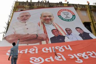 Prime Minister Narendra Modi on Sunday claimed at an election rally that there was an attempt by Pakistan to interfere in the Gujarat polls. Photo: AFP