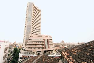 The BSE's 30-share Sensex gained 0.62% to close at 33,455.79 points on Monday, and is 410.16 points away from logging a new high. Photo: HT