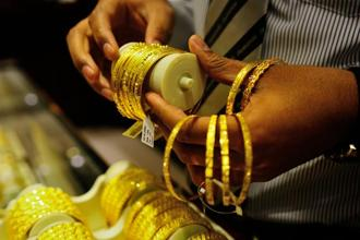 Spot gold was up 0.2% at $1,249.90 an ounce, as of 1.21pm, after hitting its lowest since 26 July at $1,243.71 last week. Photo: Priyanka Parashar/Mint
