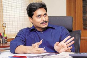 A file photo of YSR Congress Party chief Y.S. Jagan Mohan Reddy. Photo: Mint