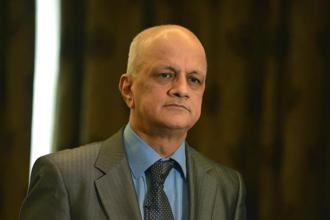 A file photo of R. Chandrashekhar, president, Nasscom. Photo: Hemant Mishra/Mint