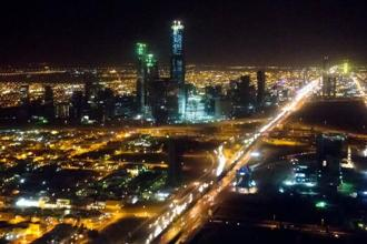 A file photo of Saudi Arabia capital Riyadh. The government said there will be more than 300 cinemas with 2,000 screens across the kingdom by 2030. Photo: AFP