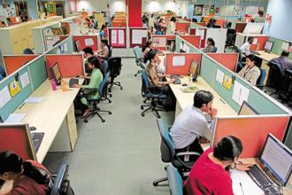 People accustomed to holding down prestigious jobs and pulling in handsome salaries are losing out to automation, a shift away from long-term legacy contracts and curbs on US work visas. Photo: Abhijit Bhatlekar/Mint