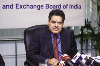 Sebi chairman Ajay Tyagi. Photo: Abhijit Bhatlekar/Mint