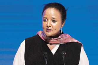 Kenya's cabinet secretary for foreign affairs Amina Mohamed. Photo: AFP
