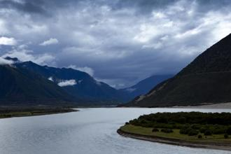 The Yarlung Tsangbo river originates in the Tibetan Himalayas and enters India as the Siang in Arunachal Pradesh before flowing downstream to Assam as the Brahmaputra. Photo: AFP