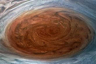 Jupiter's Great Red Spot is a giant oval of crimson-coloured clouds in Jupiter's southern hemisphere that race counter-clockwise around the oval's perimeter with wind speeds greater than any storm on Earth. Photo: AFP